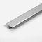 perfil de transición de aluminio anodizado