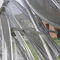 malla metálica para techo