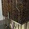 mueble bar contemporáneo / de nogal / de madera lacada / de ébano