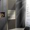 puerta de interior / abatible / de madera / aluminio