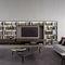 mueble TV contemporáneo / de madera lacada / de olmo / de melamina