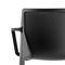 silla moderna / con reposabrazos / apilable / de polipropileno