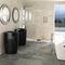 lavabo de pie / de cerámica / moderno / para el sector servicios