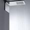rociador de ducha de pared / rectangular / lluvia