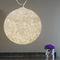 lámpara suspendida / de estilo Art Nouveau / de acero / de policarbonato