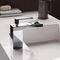grifo monomando para lavabo / de metal cromado / de baño / con 1 orificio