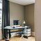 escritorio de MDF lacado / de material laminado / de metal / moderno