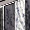celosía con lamas de PVC / para fachada / vertical / orientable