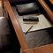 escritorio de cerezo / clásico / para el sector servicios / con espacio de almacenamiento