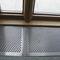 suelo técnico de metal / de interior / perforado