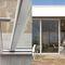 ventanal oscilante corredero / de aluminio / con vidrio cuádruple / de corte térmico
