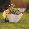 maceta de jardín de polietileno