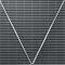 suelo técnico de acero inoxidable / de interior