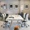 mesa de reuniones moderna / de madera / rectangularAHREND AERO by Marck HaansAhrend