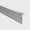 perfil de separación de aluminio