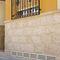 rejilla de ventilación de piedra reconstituida / cuadrada