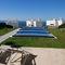 cubierta para piscina baja / telescópica / de aluminio / con accionamiento manualNÉO SMARTAzenco Groupe
