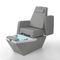 sillón de pedicura de cuero artificial / ajustable