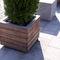 jardinera de acero galvanizado