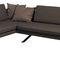 sofá de esquina / contemporáneo / de tejido / para el sector servicios
