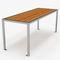 mesa de pícnic de diseño original / de madera / de acero galvanizado / de acero inoxidable