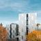 revestimiento de fachada de material compuesto / de aluminio pulido / cepillado / patinado