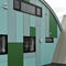plancha de policarbonato para edificio