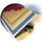 aislante térmico / de fibra de madera / de pared / para fachada