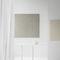 mesa de trabajo contemporánea / de vidrio templado / de acero / rectangular