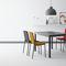mesa moderna / de acero / de material laminado / de cerámica