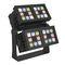 luminaria LED RGBW / rectangular / de exterior / de aluminio