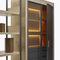 estantería moderna / de vidrio / de chapa de madera / con almacenamiento