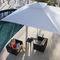 sombrilla para el sector servicios / para hotel / para bar / para piscina pública