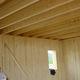 viga prefabricada / de madera / rectangular / para forjado