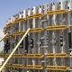 encofrado modular / circular / de acero galvanizado / para muro