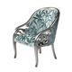 sillón de diseño nuevo barroco / de tejido