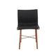 silla contemporánea / de madera