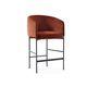 silla de bar contemporánea / tapizada / con revestimiento removible / de tejido