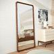 espejo de pared / contemporáneo / rectangular / de madera