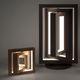 lámpara portátil / de diseño original / de madera / de interior
