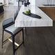 taburete de bar moderno / de cuero / de acero / tapizado