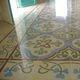 baldosa hidráulica de interior / para suelo / de polvo de mármol / con motivos victorianos