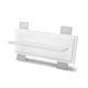 luminaria empotrable de pared / LED / lineal / de vidrio