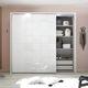 armario contemporáneo / de roble / con puertas corredizas