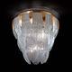 plafón clásico / de cristal de Murano / LED / de incandescencia