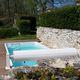 piscina monobloque / enterrada / de fibra acrílica / para el sector servicios