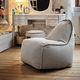 sillón pera contemporáneo / de fibras sintéticas / para niños / impermeable