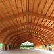 estructura de tejado de madera de madera / prefabricada