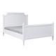 cama de matrimonio / de estilo / con cabecero / de madera