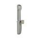 tirador de puerta para puerta corredera / de zamak / moderno / con cerradura integrada